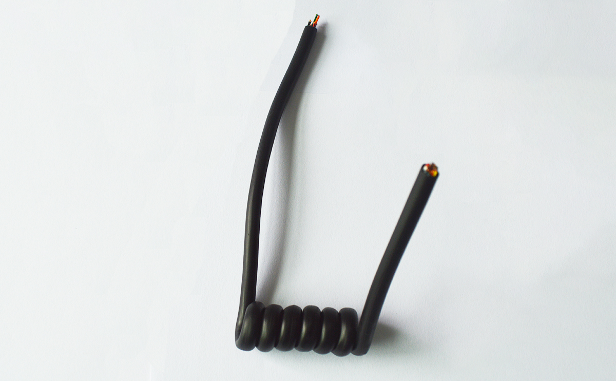 TPU spring type car wire harness