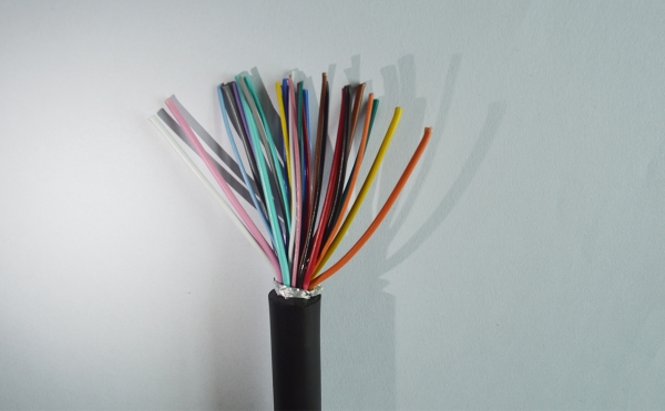 Harness wire with shielding