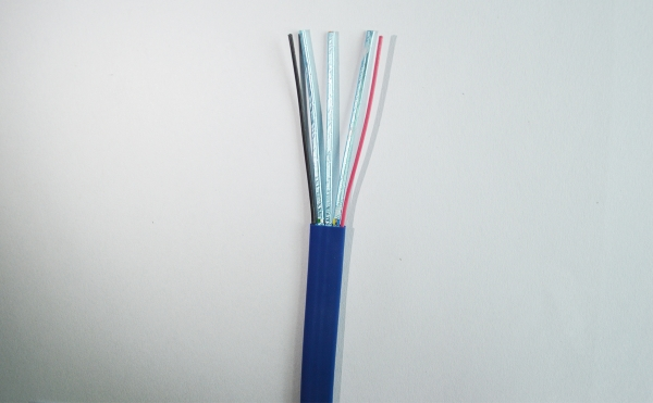 USB 3.0 flat data cable (blue)